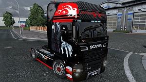 Scania R Karbon skin