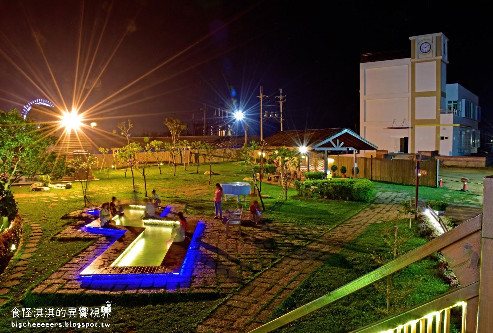 星月大地》大台中親子景觀休閒園區(放電及消暑勝地、戲水、大草原)