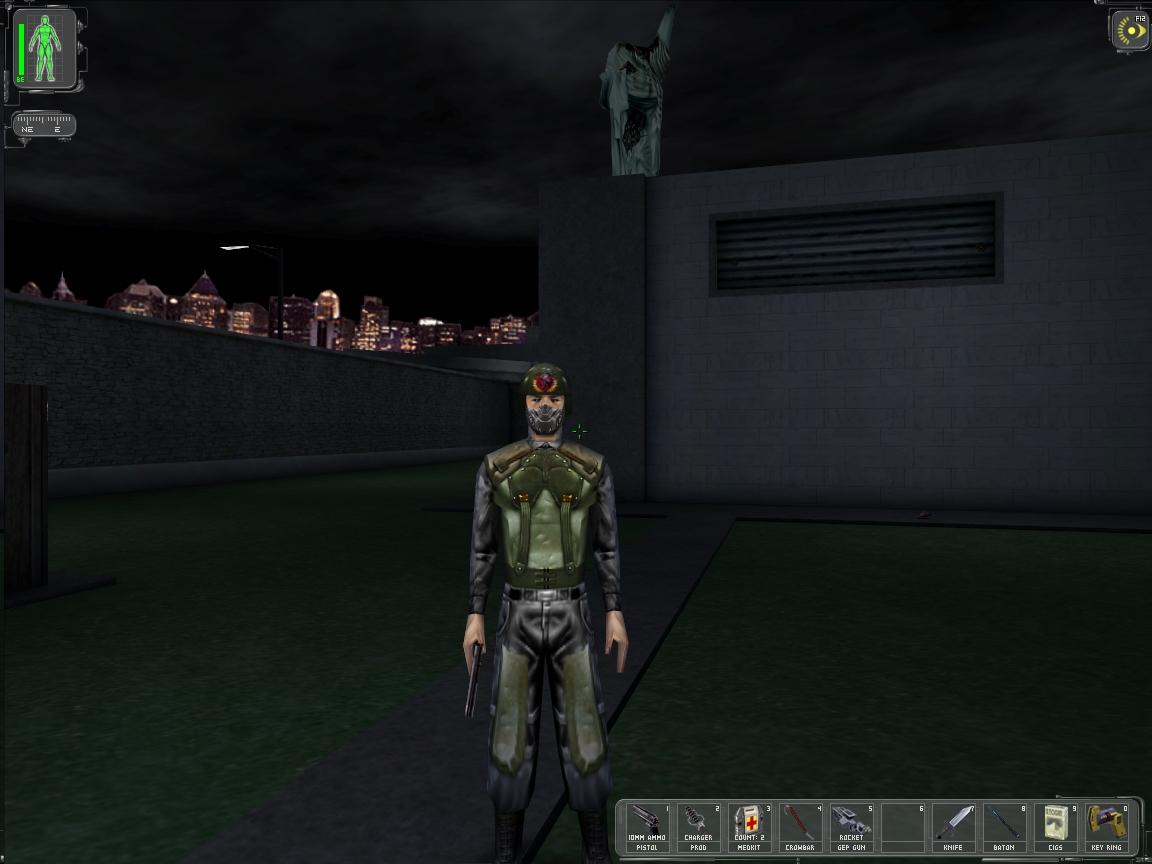 Deus Ex 1 Graphics (Textures) Modification Pack | IMBACORE