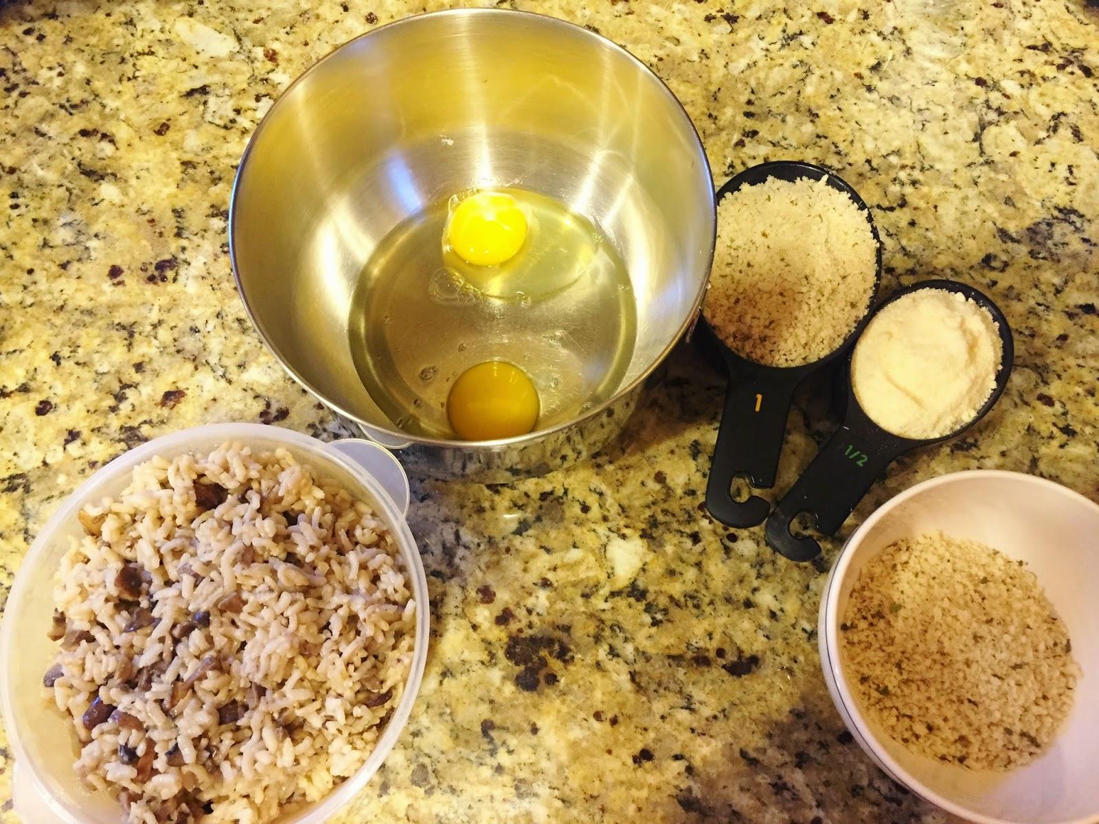Making arancini