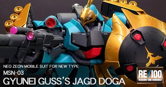 Painted Build: RE1/100 Jagd Doga