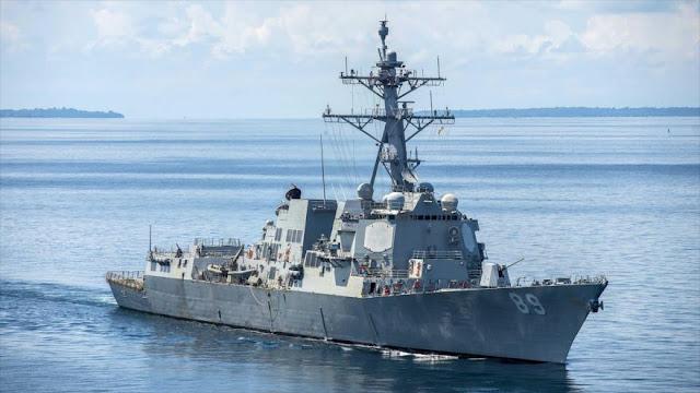 EEUU envía 2 buques de guerra a Taiwán en plena tensión con China