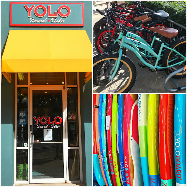 YOLO Board + Bike Santa Rosa Beach, FL - bike and board rental and sales. Great way to spend an afternoon.