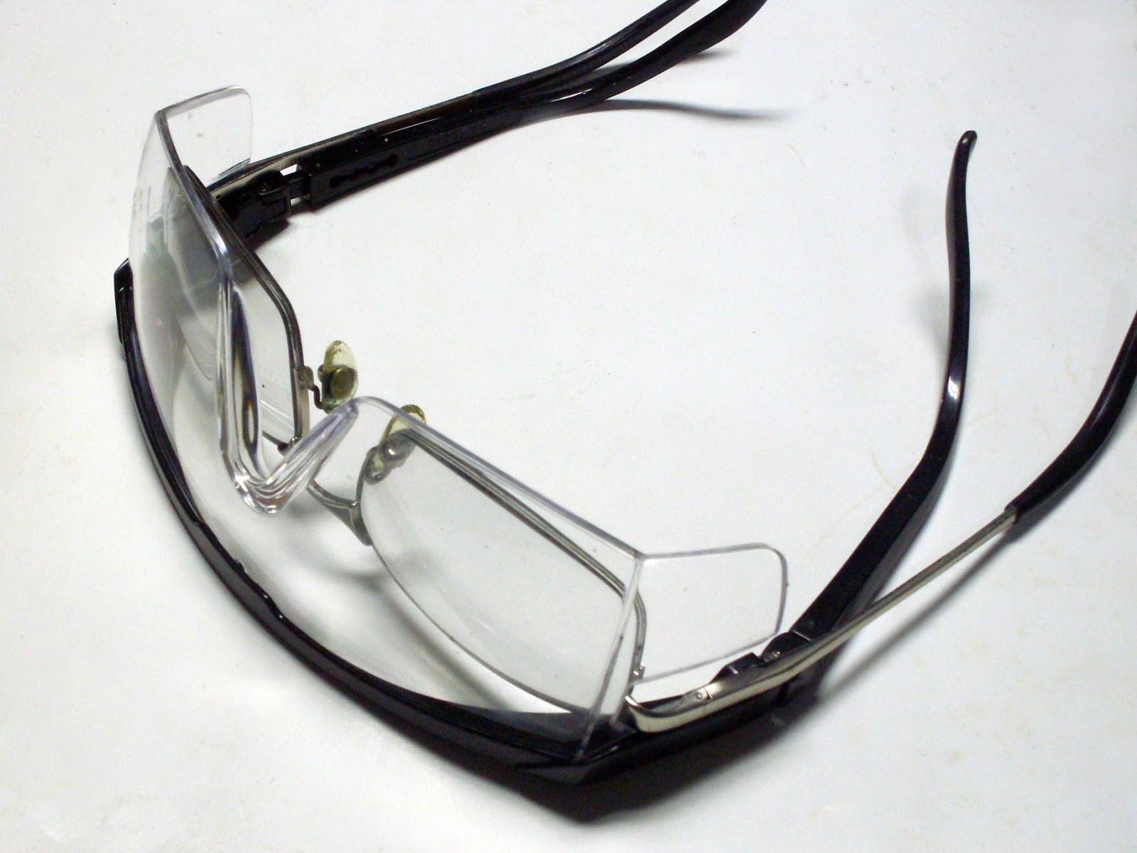 da2b7a455da05 Gambiarras Maravilhosas  Óculos de Segurança mais Óculos de Grau