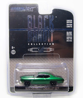 GreenLight Black Bandit(Series 15) 1970 Chevrolet Chevelle ss Green Machine