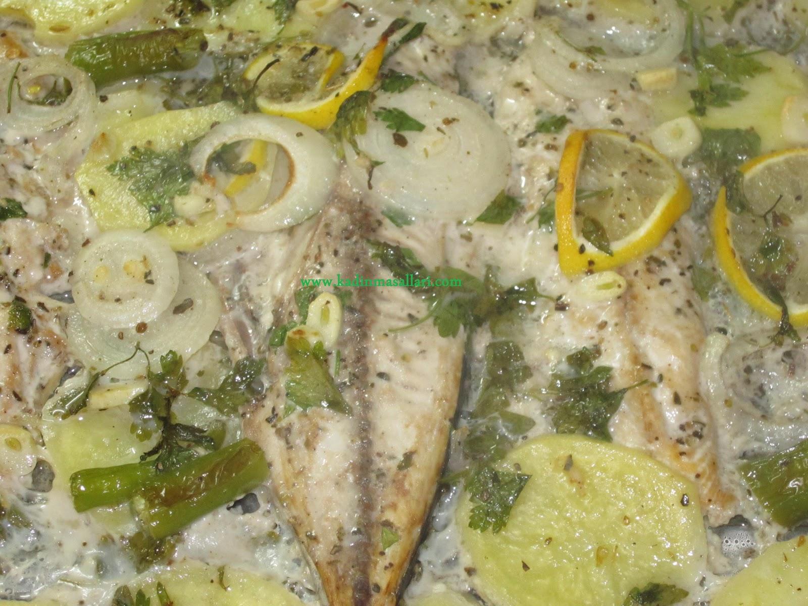 Fırında Palamut (Patatesli)