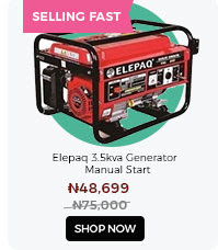 Elepaq 3.5Kva Generator Manual Start