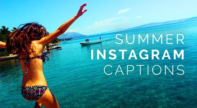 Instagram Captions for Summer