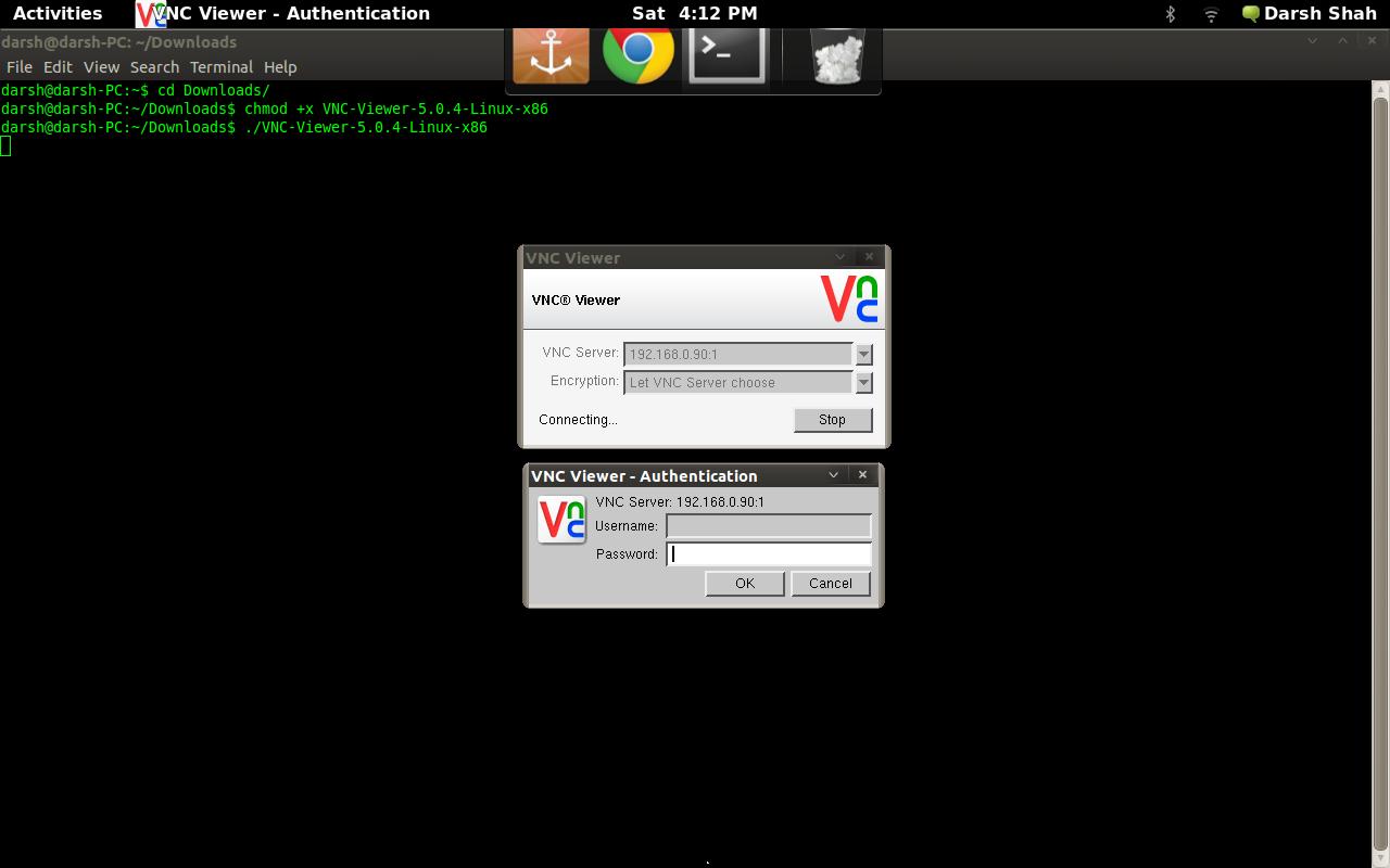 Install VNC in Raspberry Pi | Darsh Shah's Blog