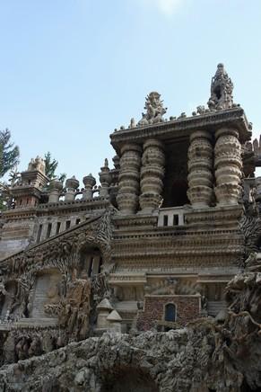 drôme hauterives palais idéal facteur cheval détail façade est monument égyptien