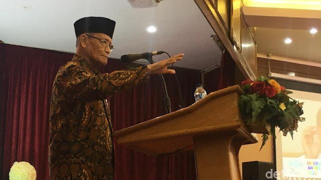 Buya Syafii Rindu Gus Dur di Tengah Memanasnya Politik Seperti Saat ini