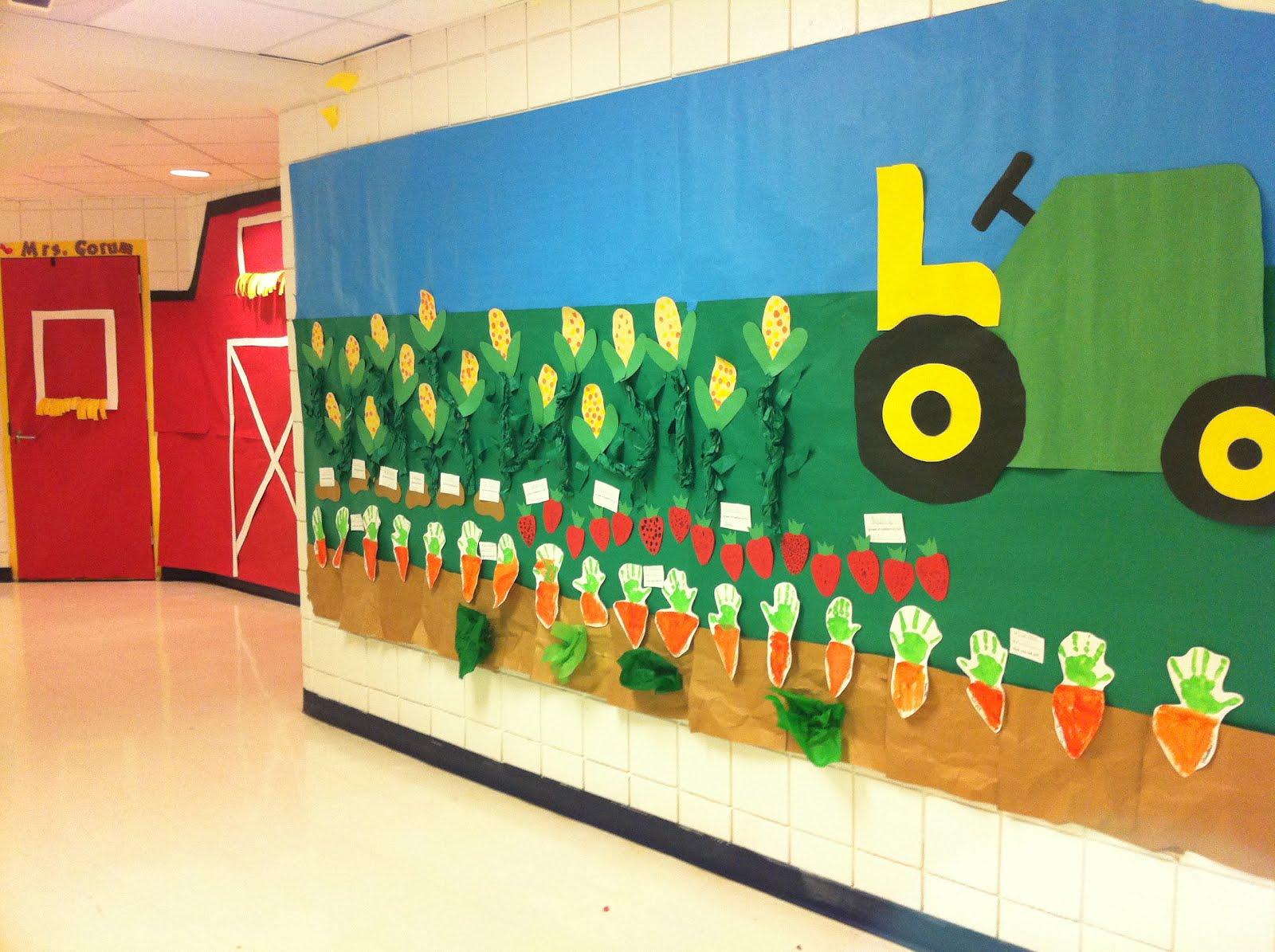 Kindergarten Cupcake Crumbs Farming Fun