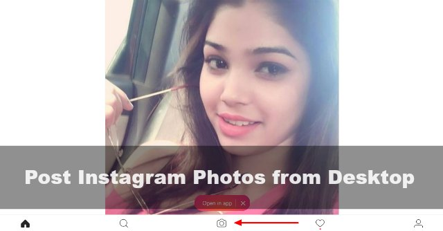 How to Post Photos/Images on Instagram from Windows Desktop