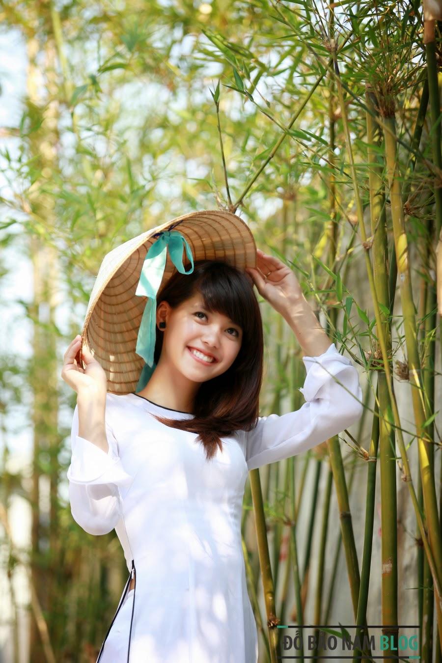 Girl xinh áo trắng Việt Nam