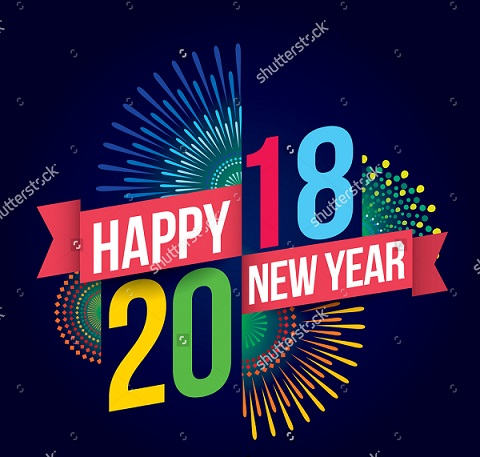 Happy New Year 2018 Themes