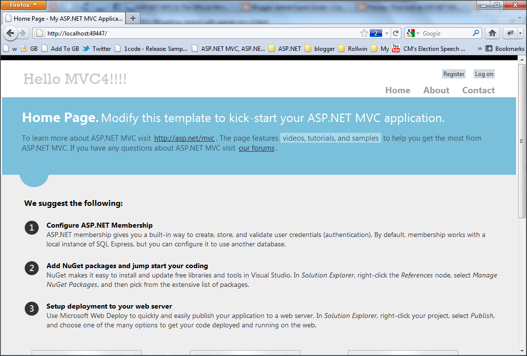 First look at asp mvc 4 templates dotnetexpertguide and it will help community to create good looking modern websites with the default template itself without investing more in template designing maxwellsz
