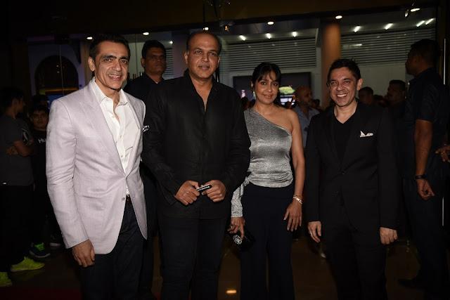 Ajay Bijli, Ashutosh and Sunita Gowariker and Sanjeev Bijli-