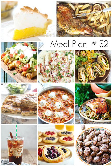 Ioanna's Notebook - Weekly Meal Plan # 32