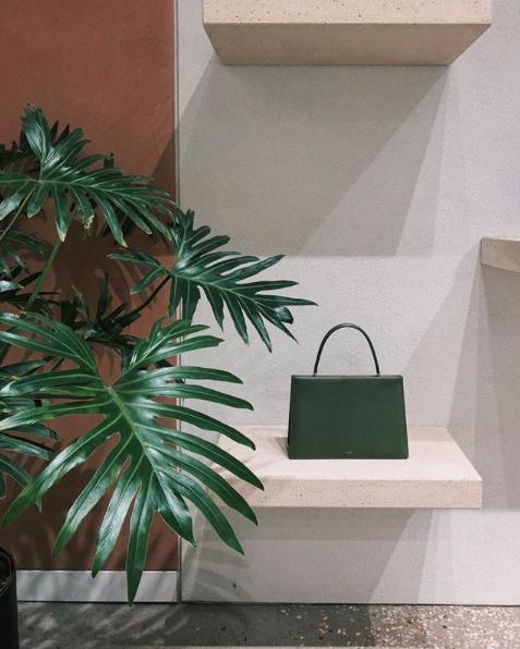 Green Celine bag