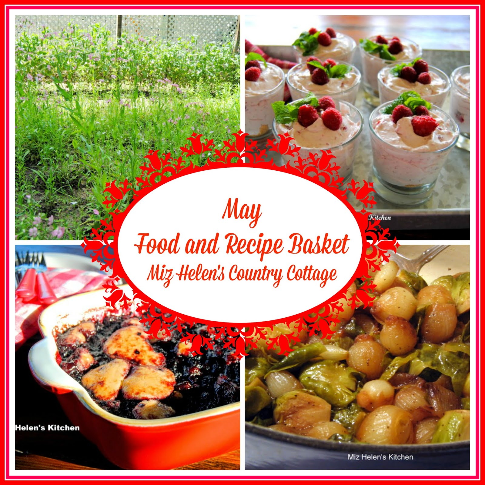 May Food and Recipe Basket