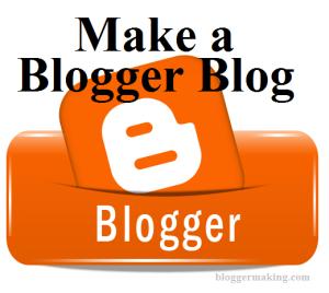 انشاء مدونة بلوق blogger