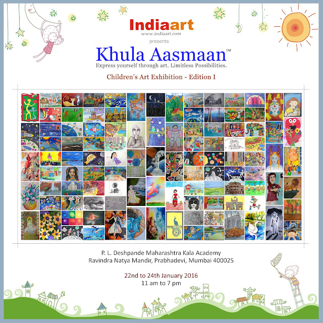 Khula Aasmaan - Children's Art Exhibition - Edition I, presented by Indiaart Gallery