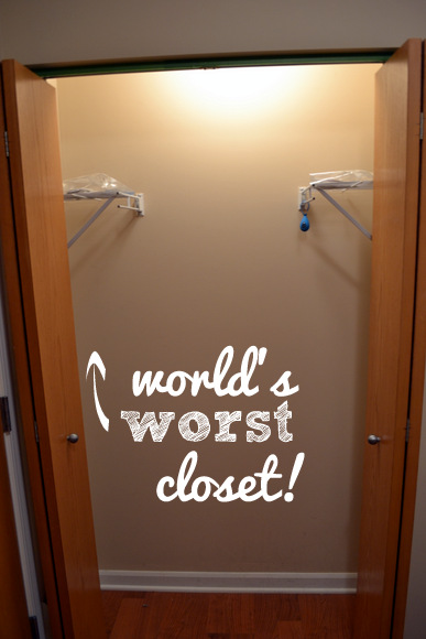 World's worst closet