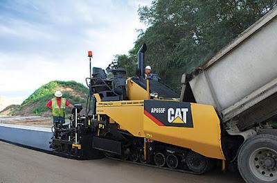 macchine finitrici asfalto