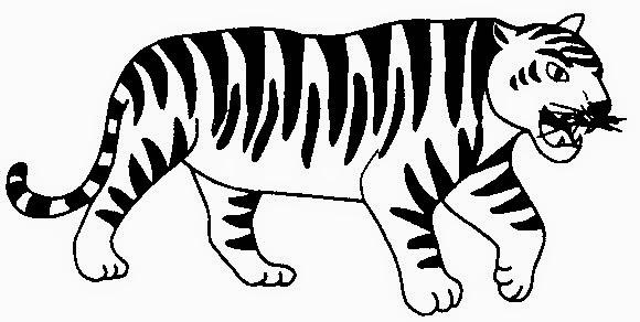101+ Gambar Hitam Putih Macan Paling Keren