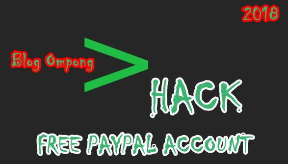Free Leaked Paypal Account With Money 2018 - List Paypal Account Hack