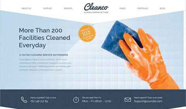 Cleaning-Company-WordPress-Theme