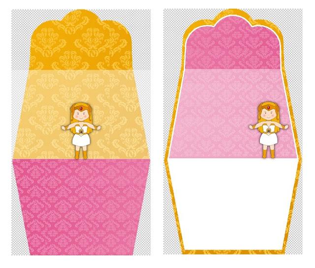 She Ra Baby: Free Printable Purse Invitations.