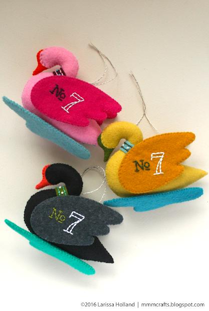 Mmmcrafts Swan -swimming Pattern