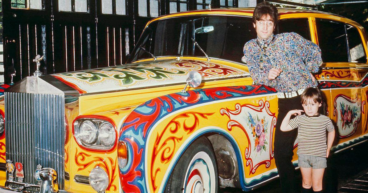 The Story Behind John Lennon S Psychedelic Rolls Royce