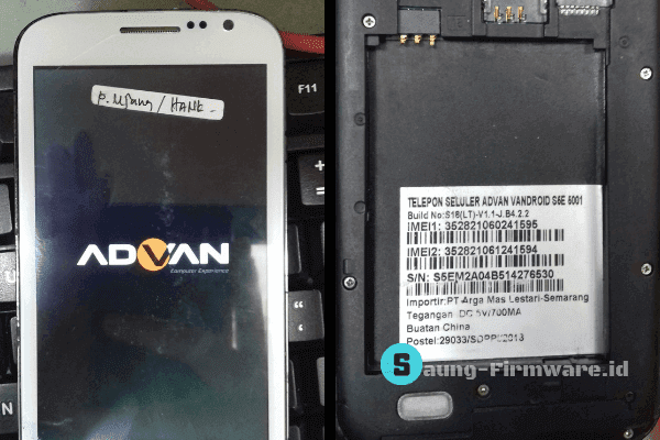 Firmware Advan S5E 5001 Build No S18(LT) Google Drive