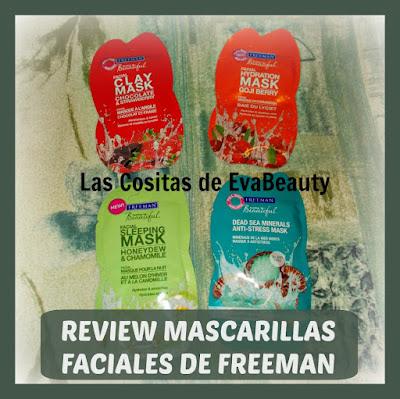 Review Mascarillas faciales de FREEMAN