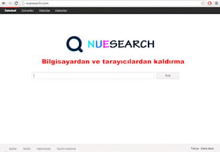 Nuesearch com kaldırma (uninstall)