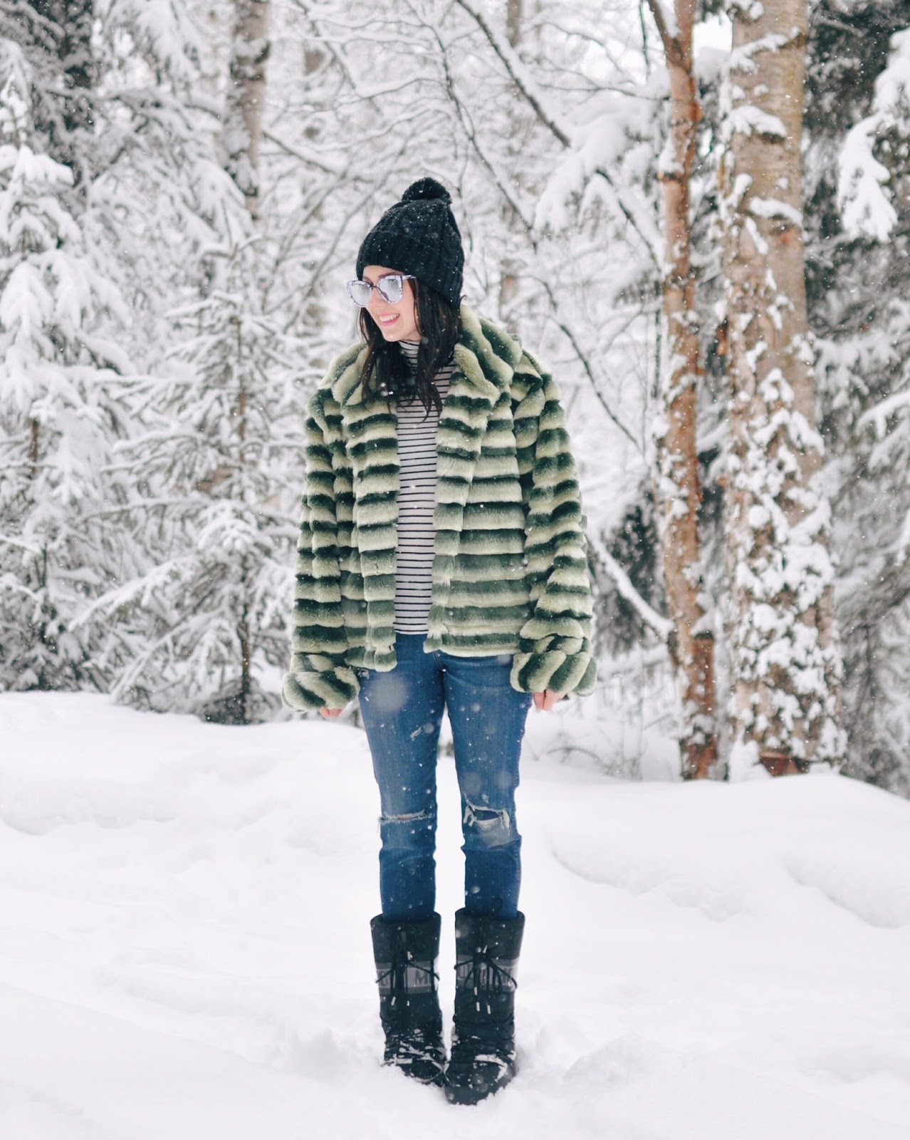 spring snow anchorage blogger fashion style outfits
