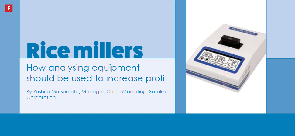 The Global Miller: How analysing equipment should be used to