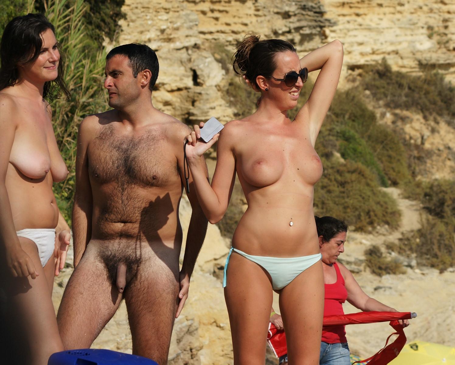 Nude Girl Aroused