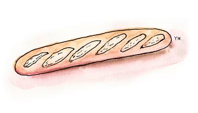baguette by Yukié Matsushita