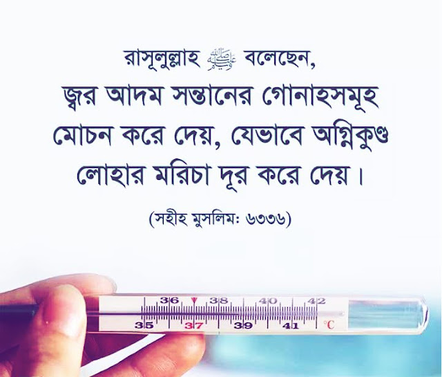 Islam,fever,happens,জ্বর হলে,Knowledge,sahih muslim,sahih bukhari