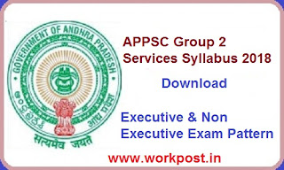 APPSC Group 2 Services Syllabus 2018