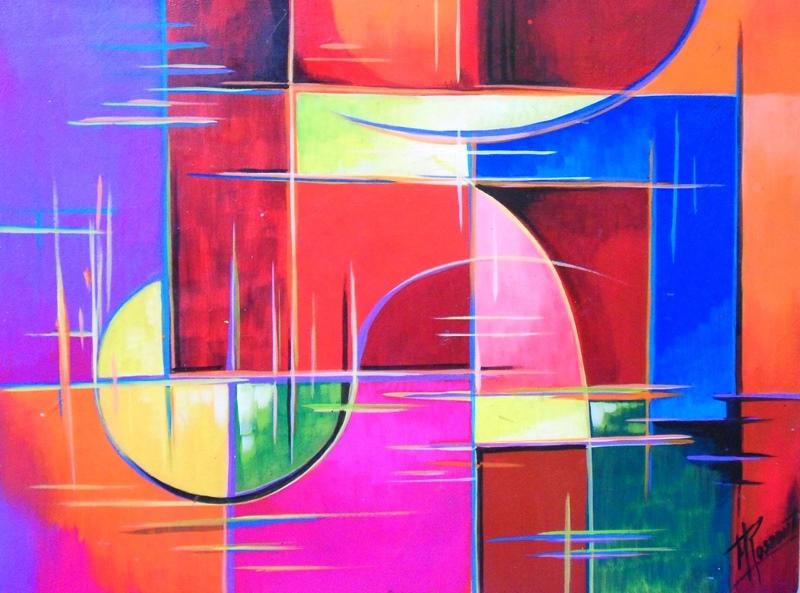 Cuadros modernos pinturas y dibujos cuadros decorativos - Pinturas modernas para sala ...