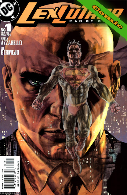Lex Luthor - Man of Steel - Portada