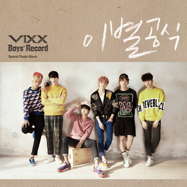 VIXX – Boys` Record – Single (FLAC)
