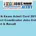 UPEFA Exam Admit Card 2016 District Coordinator Jobs Entry Ticket & Result