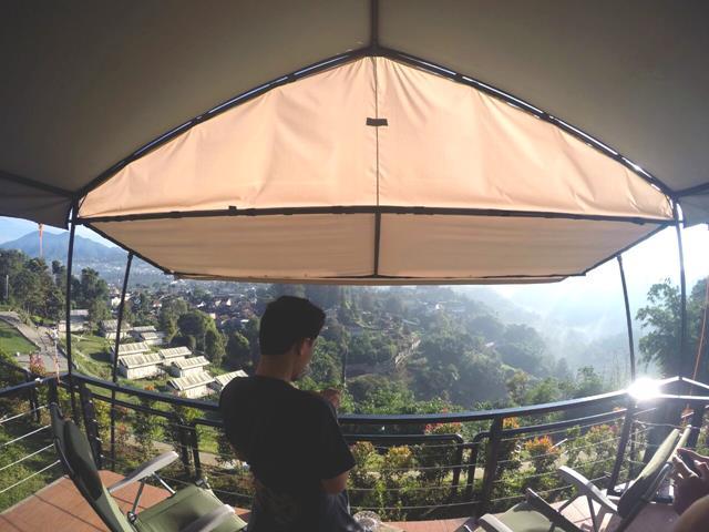 camping mewah di trizara resorts lembang bandung