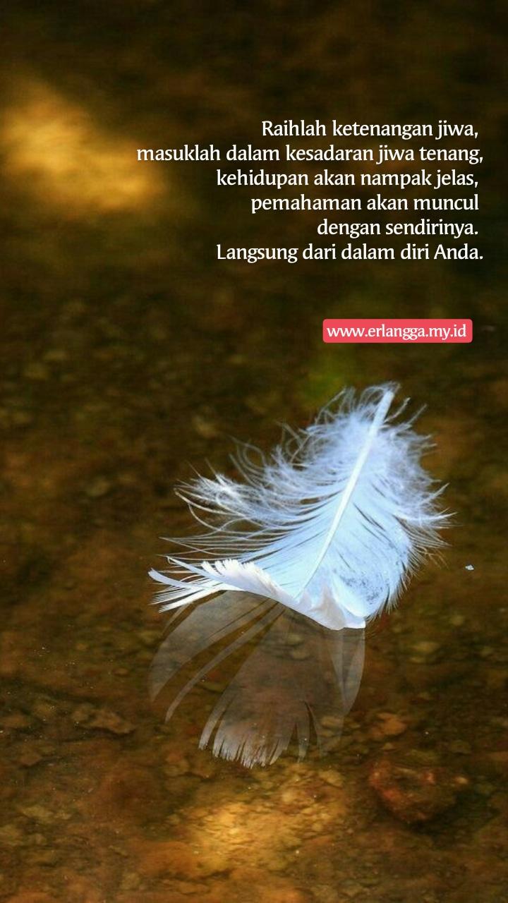 Ketenangan Jiwa adalah Kunci Datangnya Pemahaman   Journey Of Me