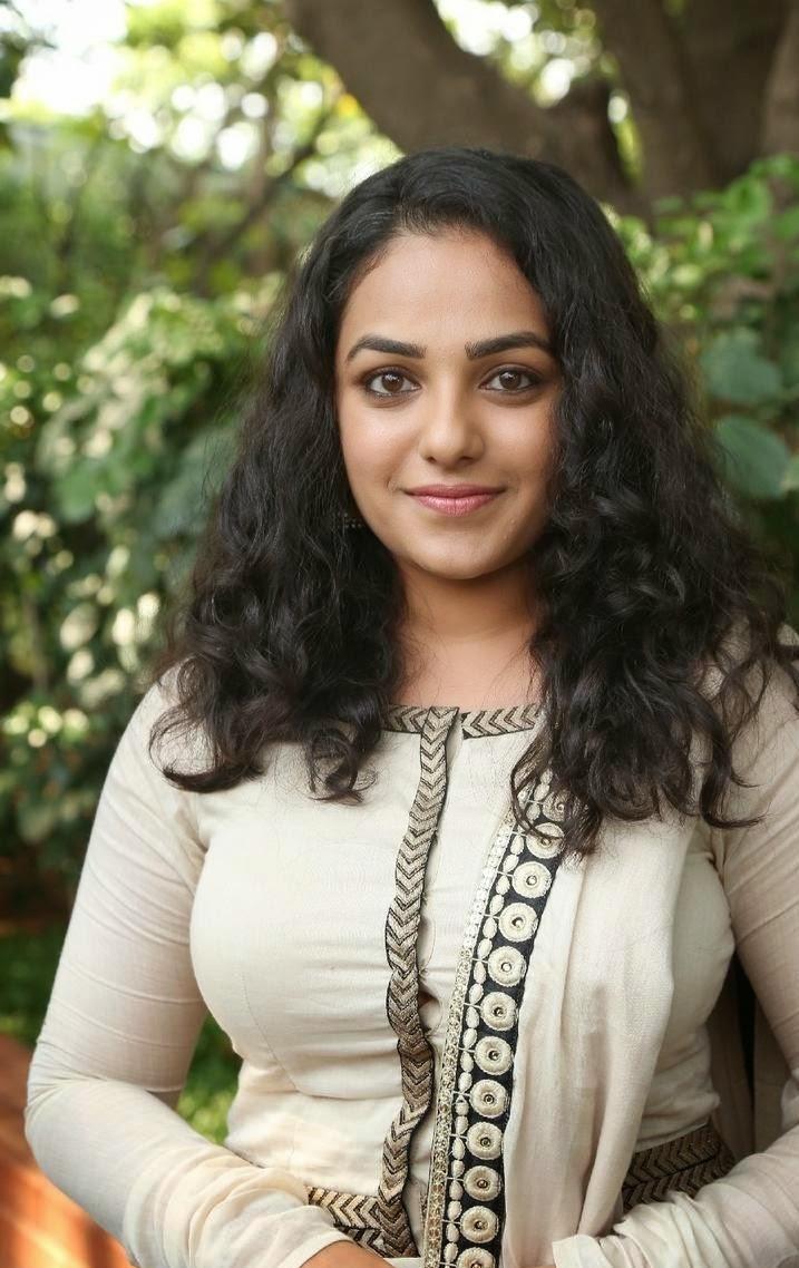 Nithya Menen latest hot photos in churidar from OK Kanmani